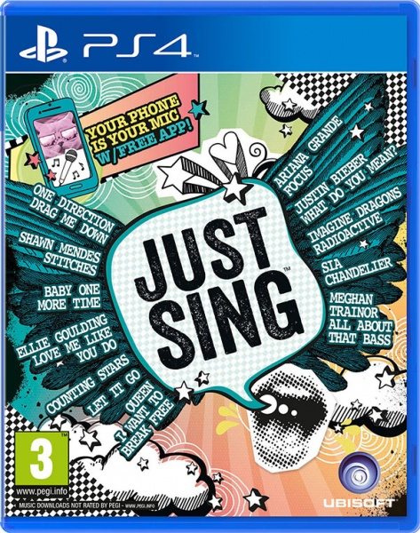 PS4 - Just Sing