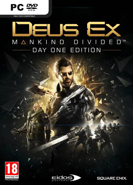 PC - ESP: Deus Ex: Mankind Divided Collector's Edition