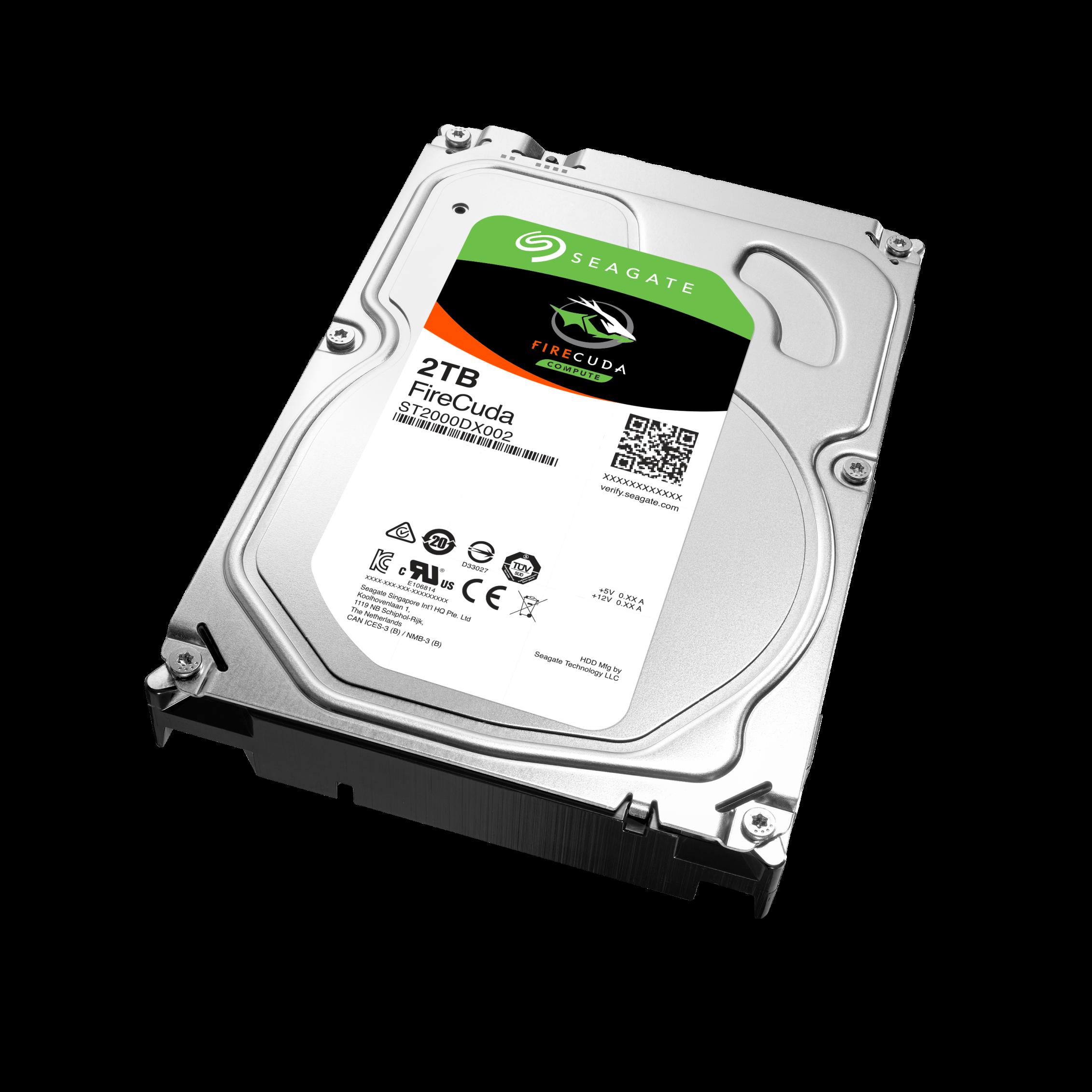 "Seagate FireCuda SSHD, 2TB HDD, 8GB SSD, 3.5"", SATAIII, 64MB cache"