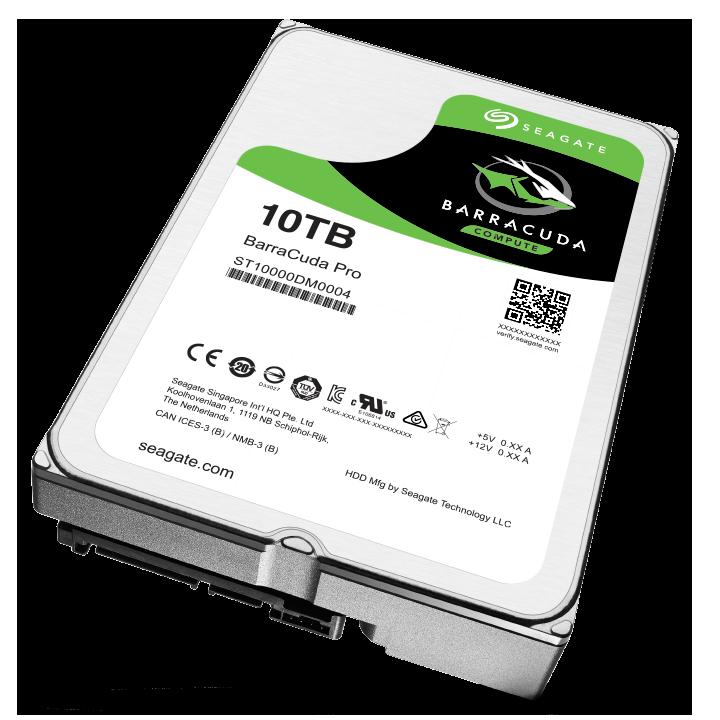 Seagate Barracuda Pro 7200 10TB 3.5'' HDD, SATA3, 7200RPM, 256MB cache