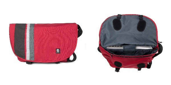 Crumpler Dinky Di Messenger M - deep red/charcoal
