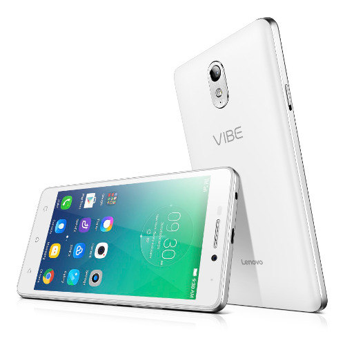 "Lenovo Smartphone Vibe P1m Single SIM/5,0"" IPS/1280x720/Quad-Core/1,0GHz/2GB/16GB/8Mpx/LTE/Android 5.1/White"
