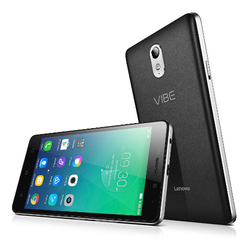 "Lenovo Smartphone Vibe P1m Single SIM/5,0"" IPS/1280x720/Quad-Core/1,0GHz/2GB/16GB/8Mpx/LTE/Android 5.1/Black"