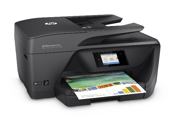 HP All-in-One Officejet Pro 6960 (A4, 18/10 ppm, USB 2.0, Ethernet, Wi-Fi, Duplex, Print/Scan/Copy/Fax)