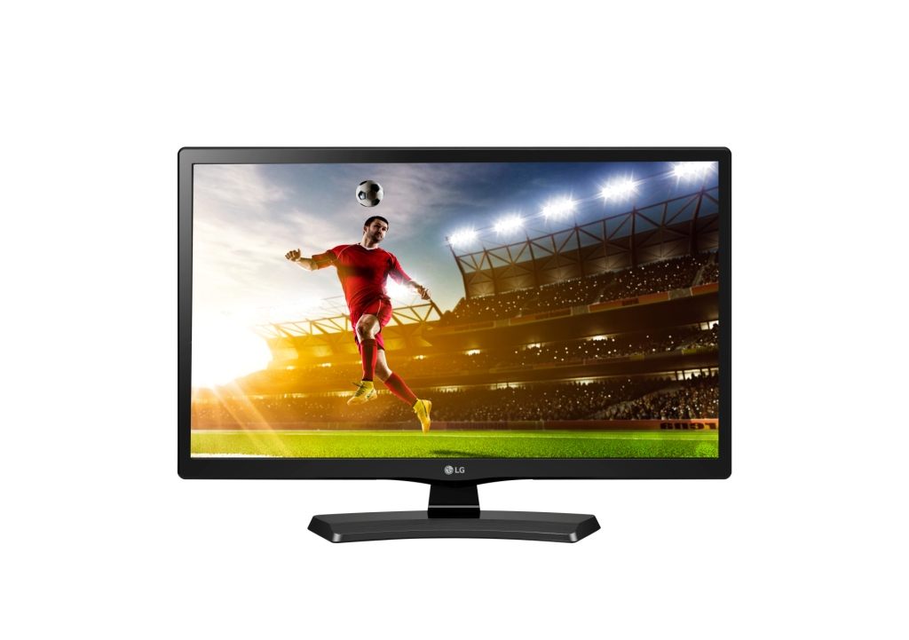 "24"" LG LED 24MT48DW - HD Ready, HDMI, SCART, CI slot, DVB-T/C, repro."