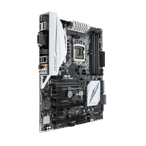 ASUS Z170-PRO, Z170, DualDDR4-2133, SATA3, SATAe, M.2, HDMI, DVI, DP, ATX