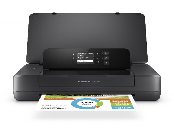 HP Officejet 202 Mobile Printer (A4, 10 ppm, USB, Wi-Fi)