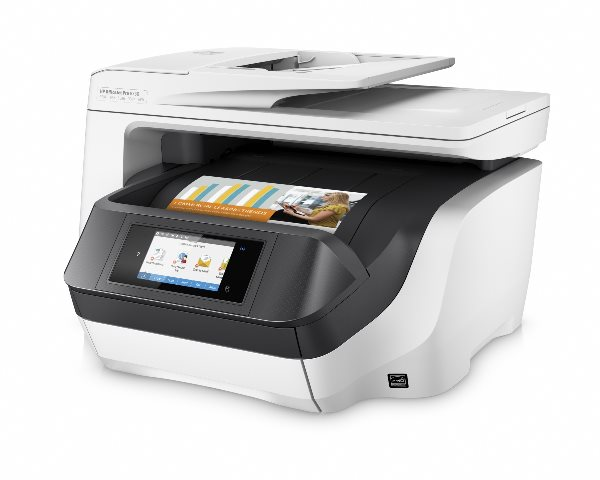 HP All-in-One Officejet Pro 8730 (A4, 24/20 ppm, USB 2.0, Ethernet, Wi-Fi, Print/Scan/Copy/Fax)