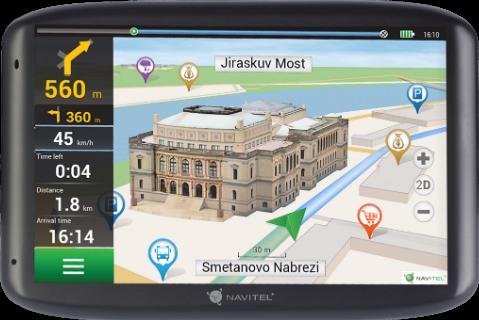 NAWIGACJA NAVITEL E500 5'' EU45+RUS,UKR,BLR,KAZ (doz Mapy)