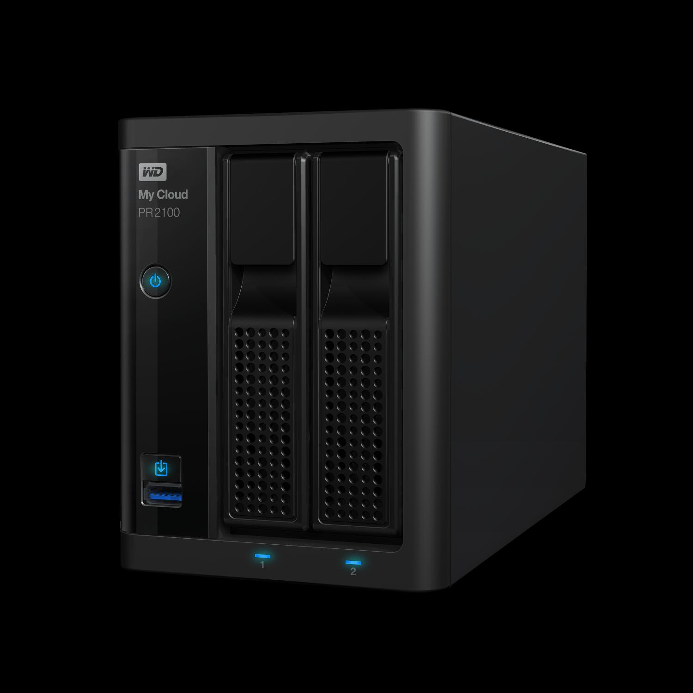 """NAS 3,5"""" WD My Cloud Pro PR2100 8TB NAS LAN"""