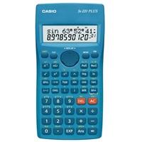 CASIO kalkulačka FX 220 PLUS, modrá, školní, desetimístná