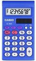 CASIO kalkulačka SL 450 S, modrá, školní, osmimístná
