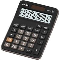 CASIO kalkulačka MX 12 B, černá, stolní, dvanáctimístná