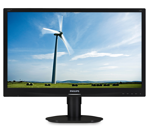 "22"" LED Philips 220S4LYCB-1680x1050,DVI,DP,piv"