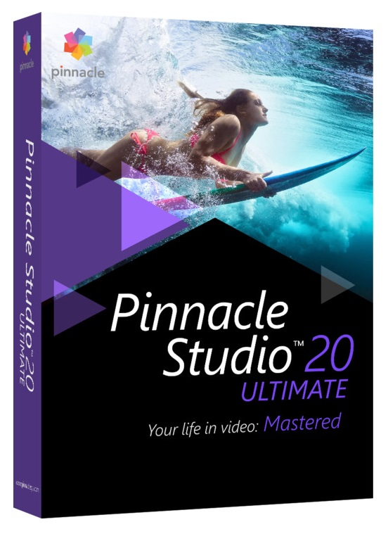 Pinnacle Studio 20 Ultimate ML EU PNST20ULMLEU