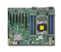 SUPERMICRO MB 1xLGA2011-3, iC612 8x DDR4 ECC,10xSATA3,(PCI-E 3.0/1,2,1(x16,x8,x4) PCI-E 2.0/1,1(x2,x4),2x LAN,IPMI bulk