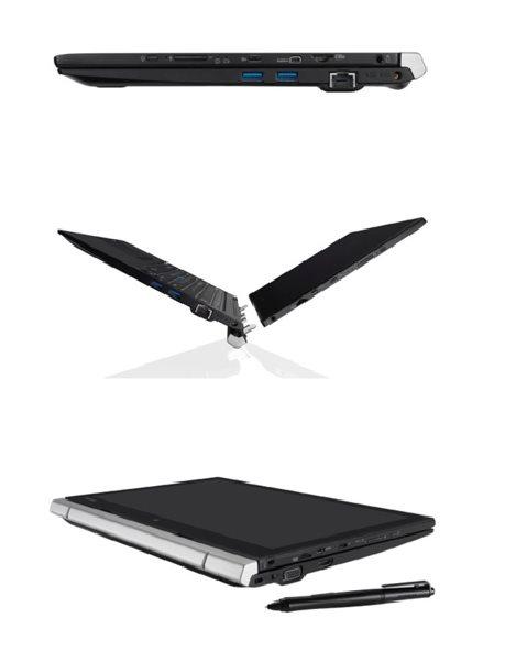 """Toshiba NB Portégé Z20t-C-11G - Core M-6Y54,12.5"""" FHD Touch mat,8GB,256SSD,HD 515,BT,HDMI,3G/4G,W10P"""