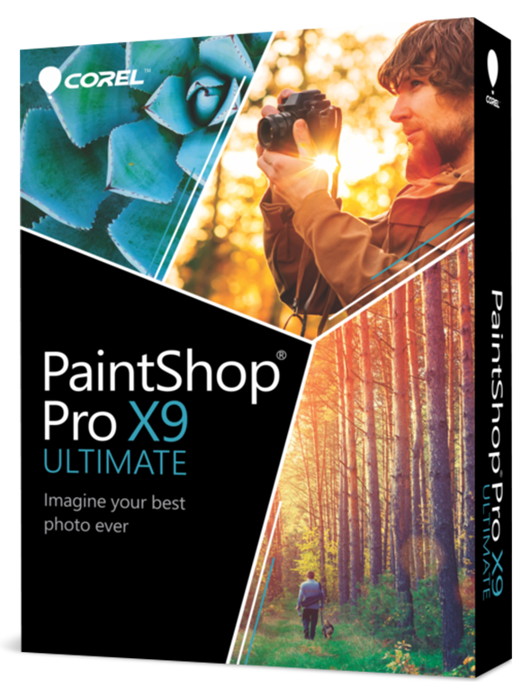 PaintShop Pro X9 ULTIMATE ML