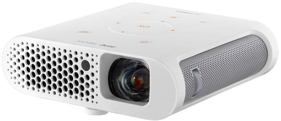 BenQ DLP Projektor GS1/1280x720 720p/300 ANSI lm/100 000:1/HDMI/2x2W Repro