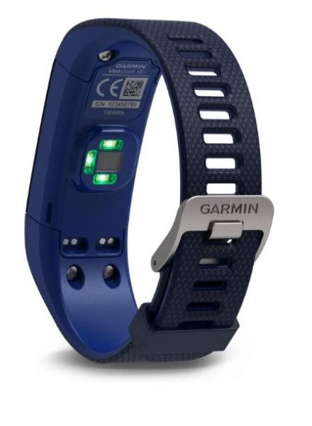 Garmin vívosmart Optic s GPS Blue, (vel.L))-fitness náramek