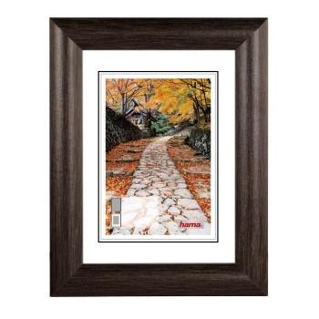 Hama 1259 rámeček dřevěný BIBIONE, wenge, 15x20 cm