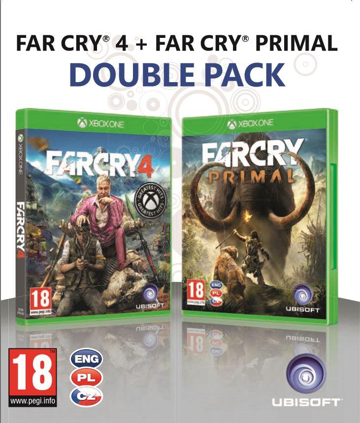 XONE - Far Cry Primal + Far Cry 4 - duopack