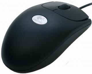 Počítačová myš Logitech OEM RX250 Black, Optical Mouse, USB / PS/2, černá