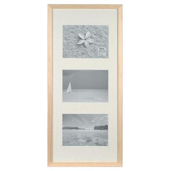 Hama 1135 rámeček dřevěný Galerie STOCKHOLM, přírodní, 23x45cm