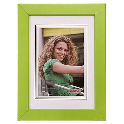 Hama rámeček dřevěný JESOLO, zelená, 15x21cm