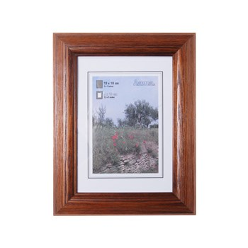 Hama 1228 rámeček dřevěný LORETA, tmavý dub, 15x20 cm