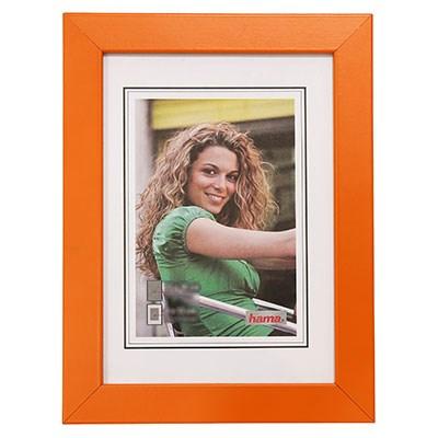 Hama rámeček dřevěný JESOLO, oranžová, 18x24cm