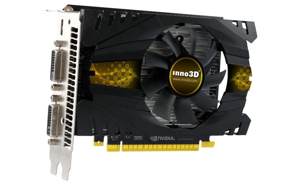 Inno3D GeForce GTX 750 Ti, 2GB GDDR5 (128 Bit), HDMI, 2xDVI