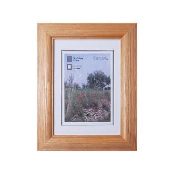 Hama 1243 rámeček dřevěný LORETA, ořech, 13x18 cm