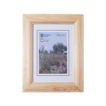 Hama 1211 rámeček dřevěný LORETA, přírodní, 13x18cm