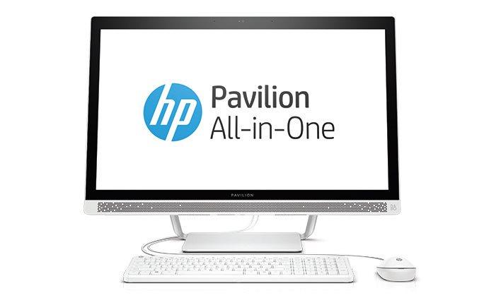 """HP PC AiO All-in-One 27-a150nc 27"""" FHD IPS LED,i5-6400T,8GB,1TB/7200+128GB SSD,DVD,WiFi,USBkey+mou,GeF GT930A/2GB,Win10"""