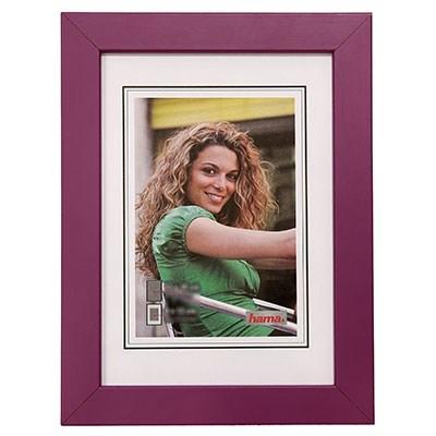 Hama rámeček dřevěný JESOLO, lila, 15x20cm