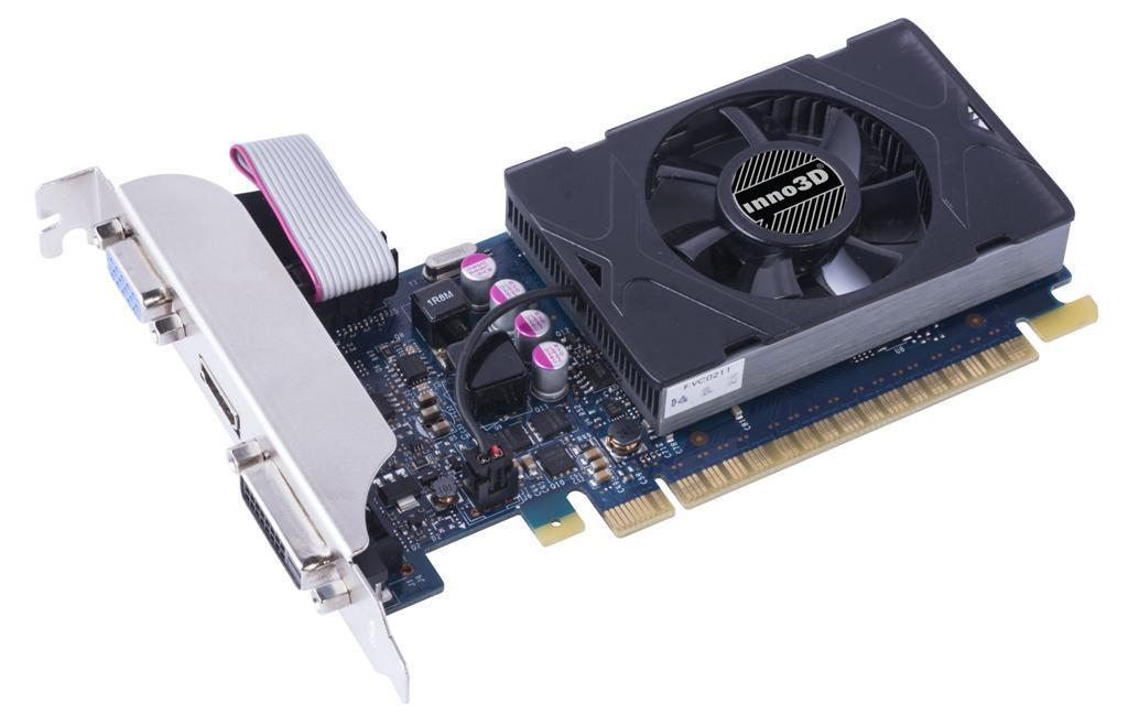 Inno3D GeForce GT 730, 2GB GDDR5 (64 Bit), HDMI, DVI, D-Sub