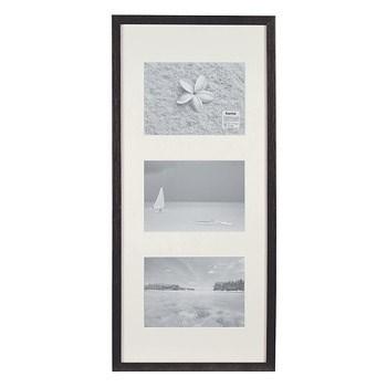 Hama 1142 rámeček dřevěný Galerie STOCKHOLM, černý, 25x55 cm
