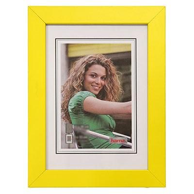 Hama rámeček dřevěný JESOLO, žlutá, 15x21cm