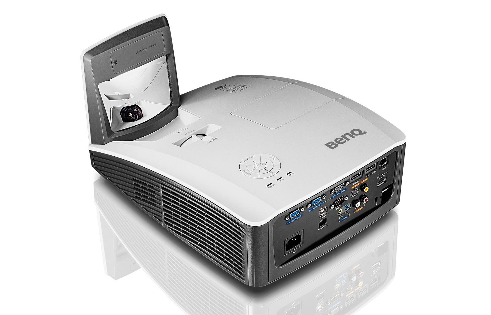 BENQ Dataprojektor MW855ST DLP; WXGA (3500ANSI, 2xHDMI, 2x 10w speaker)