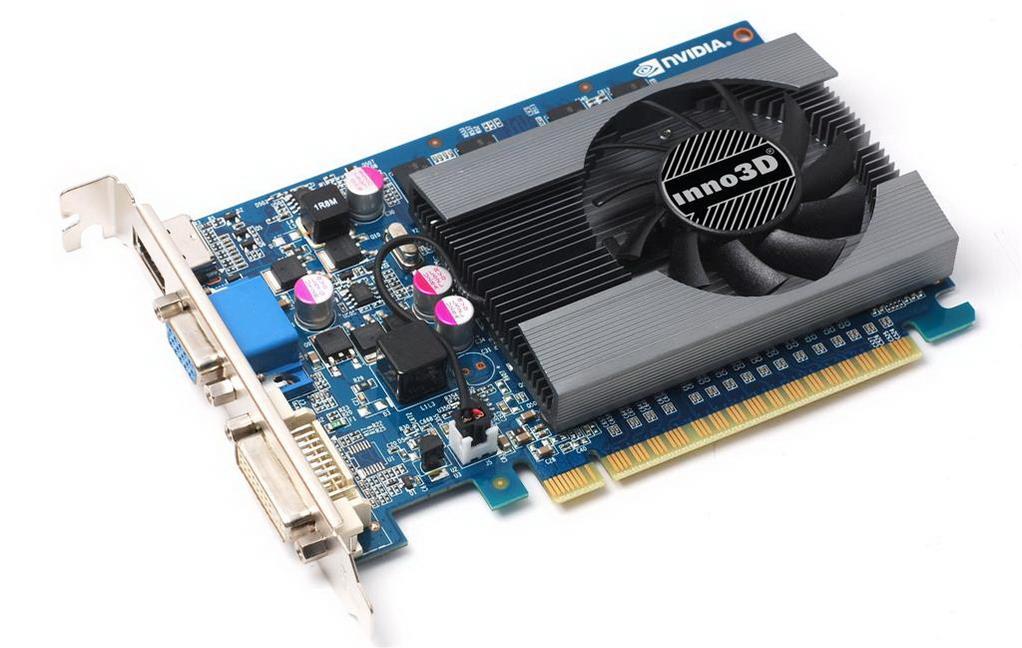 Inno3D GeForce GT 730, 4GB SDDR3 (128 Bit), HDMI, DVI, D-Sub