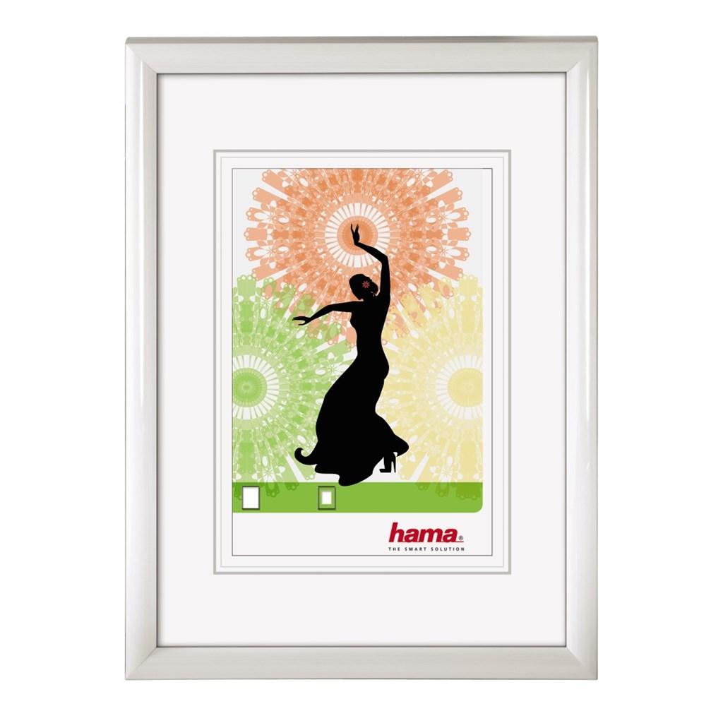 Hama 154490 rámeček plastový MADRID, bílý, 15x21cm