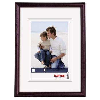 Hama 1151 rámeček dřevěný OREGON, mahagonová, 15x21cm