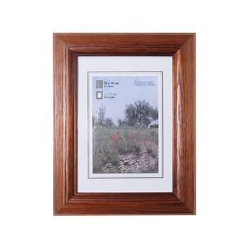 Hama 1227 rámeček dřevěný LORETA, tmavý dub, 13x18 cm