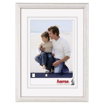 Hama 1153 rámeček dřevěný OREGON, bílá, 15x21cm