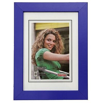 Hama rámeček dřevěný JESOLO, modrá, 15x21cm