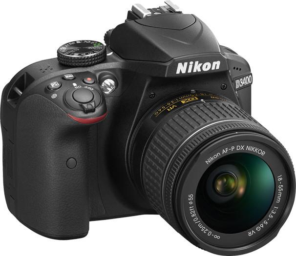 NIKON D3400 + AF-P 18-55 VR BLACK