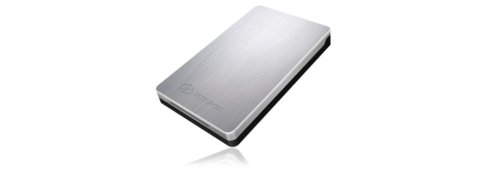 Icy Box External enclosure for 2,5'' SATA HDD/SSD, USB 3.0, Silver
