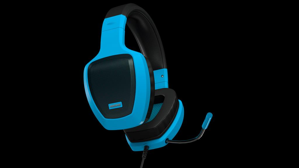 Gaming headset OZONE RAGE Z50 GLOW BLUE