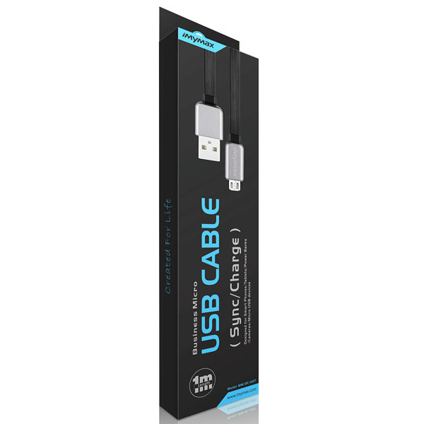 iMyMax Business Micro USB Cable, Black